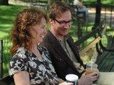 """""""Meed films"""" nuotr./David Thewlis ir Melissa Leo"""