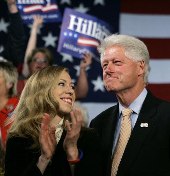 Bilas Clintonas ir Chelsea Clinton