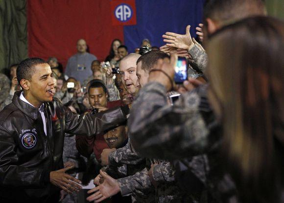 B.Obama Afganistane