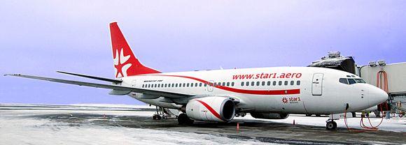 """Star1 Airlines"" lėktuvas"