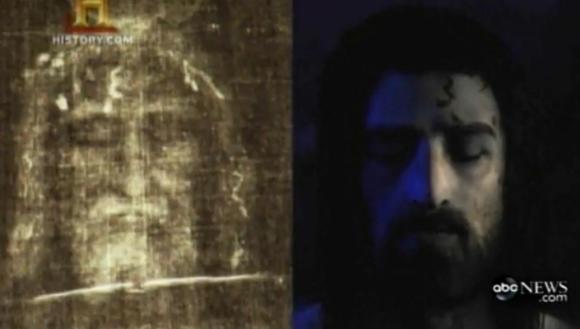 Pasinaudodami įspaudu Turino drobulėje (k.) mokslininkai skelbia atkūrę Jėzaus veidą.