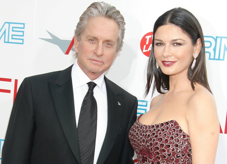 Michaelas Douglasas su Catherine Zeta-Jones