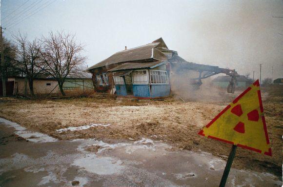 Scanpix nuotr./Apleistas kaimas radiacijos zonoje