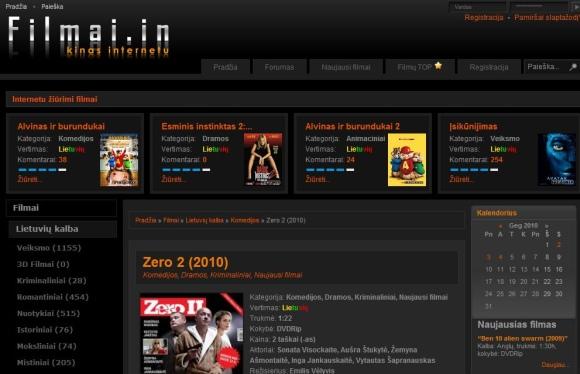 Filmai.in siūlo internetu žiūrėti naujausius filmus.