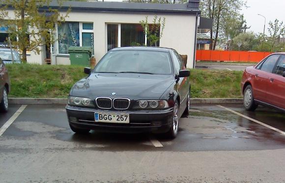 Skersas BMW