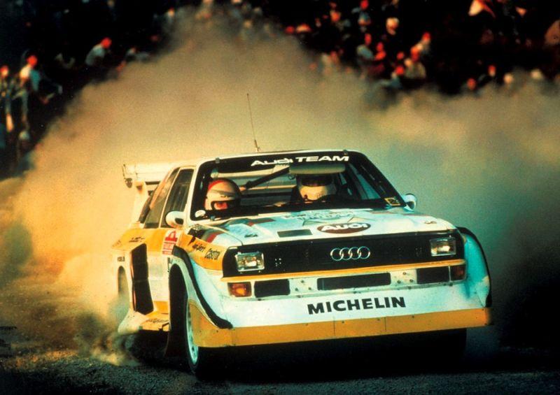 """""""Audi quattro"""" – 30 metų"""