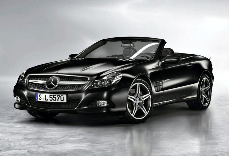"""Mercedes-Benz SL Night Edition"" – nakties paukštis"