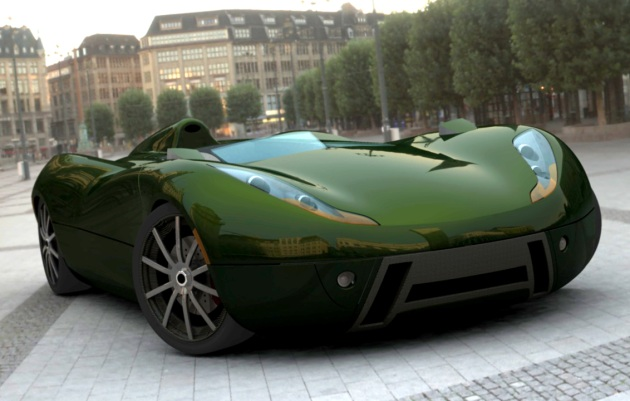 """Climax Sports Racer"" – geidžiamas entuziasto automobilis"