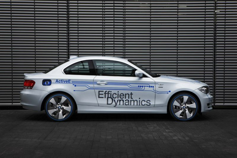 "Elektrinis BMW 1 – ""BMW ActiveE"" koncepcija"