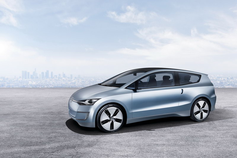 """Volkswagen Up! Lite"" koncepcija – dyzelinis hibridas"