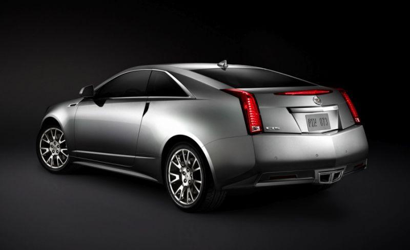 """""""Cadillac CTS Coupe"""" - dramatiška kupė"""