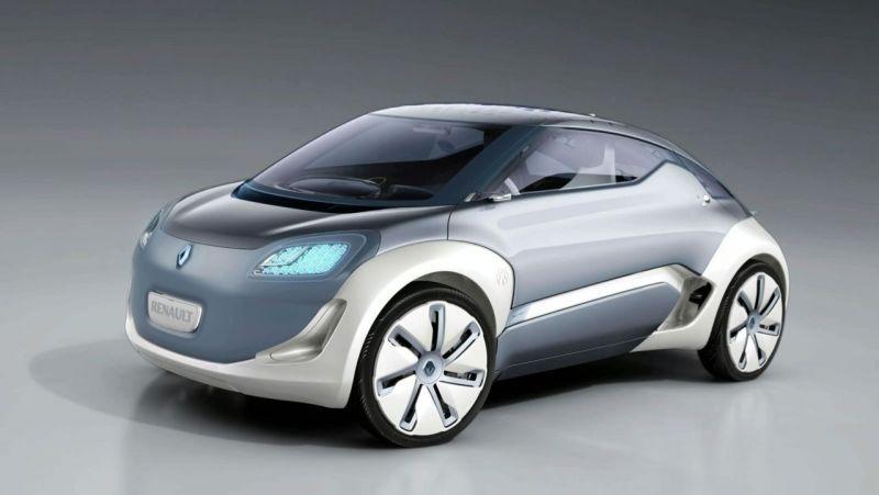 """Renault Zoe Z.E. Concept"" taps serijiniu modeliu"