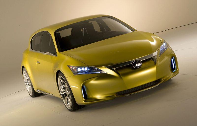 """""""Lexus LF-Ch"""" koncepcija – debiutas jau netrukus"""