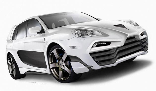 "Rusiška ""Porsche Cayenne"" versija"
