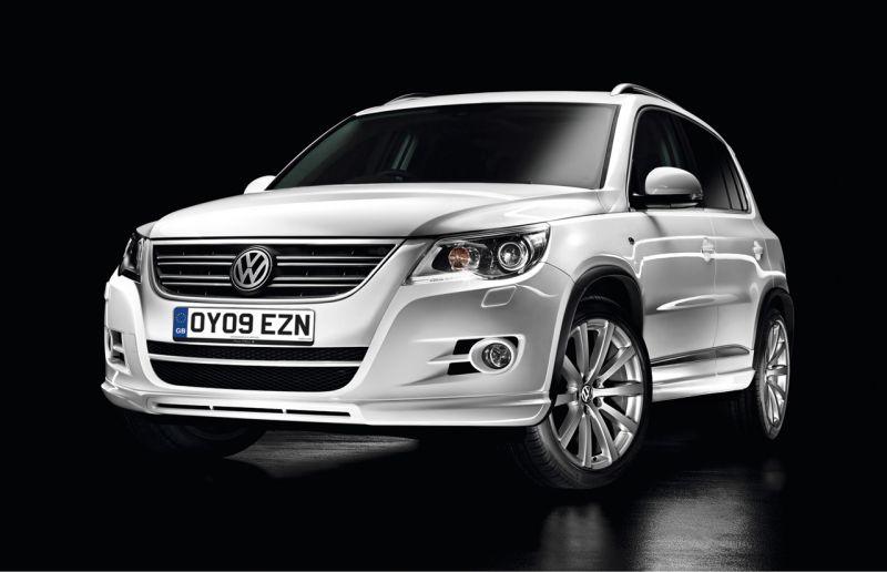 """""""Volkswagen Tiguan R Line"""" – subtiliai sportiškas"""