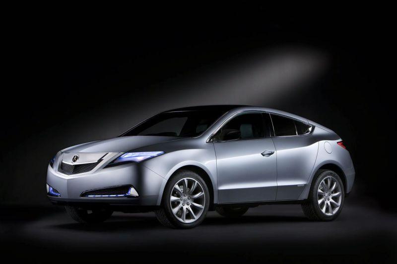 """""""Acura ZDX"""" koncepcija lygiuosis į BMW X6"""