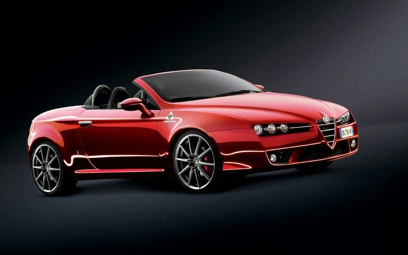 """Pristatytas ypatingas """"Alfa Romeo Mille Miglia"""" modelis"""