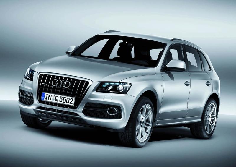 "Pristatytas ""Audi Q5 S Line"""