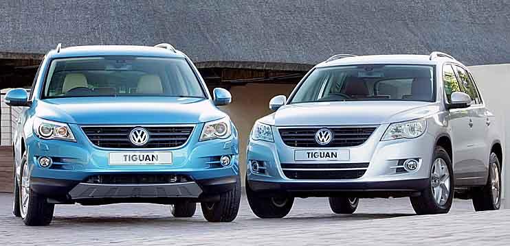 """Volkswagen Tiguan"" stebuklingu varikliu"