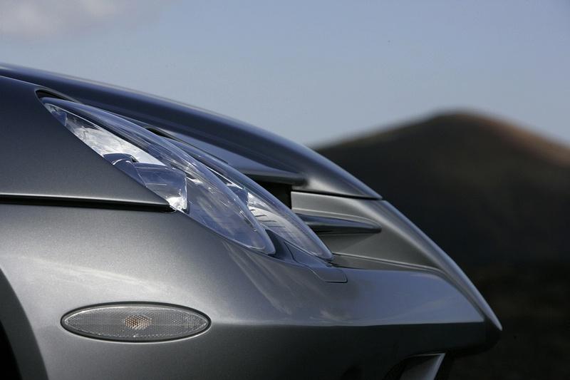"""Ruošiamasi baigti """"Mercedes-Benz SLR McLaren"""" gamybą"""