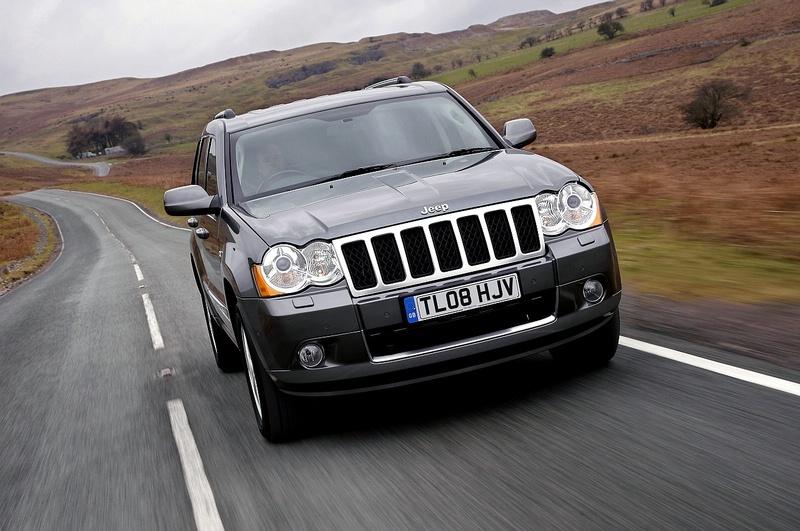 """Atnaujintas """"Jeep Grand Cherokee"""""""