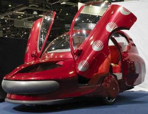 "Ženeva 2008: ""Sbarro Assystem City Car"" – originalus sprendimas"