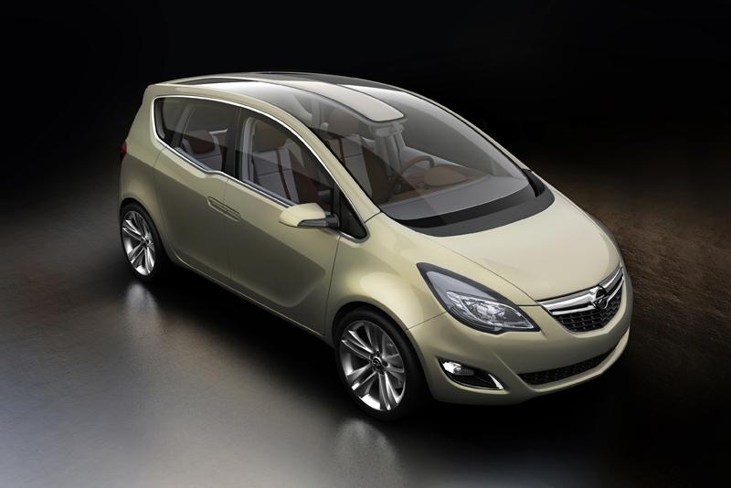 "Ženeva 2008: koncepcinis ""Opel Meriva"""