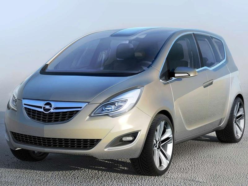 """""""Opel Meriva"""" koncepcinio modelio nuotraukos"""