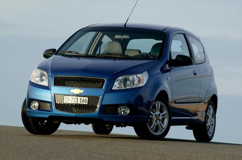 """Naujos """"Chevrolet Aveo"""" versijos"""