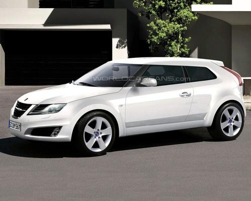 """""""Saab"""" pristatys mažylį """"9-1""""?"""