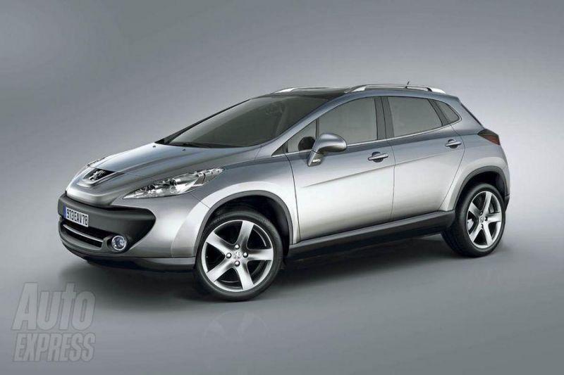 """""""Peugeot"""" ruošia kompaktinį SUV """"3008"""""""