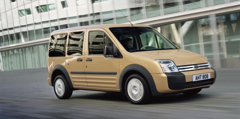 """Naujasis """"Ford Transit Connect"""" Šiaurės Amerikoje pasirodys 2009 metais"""