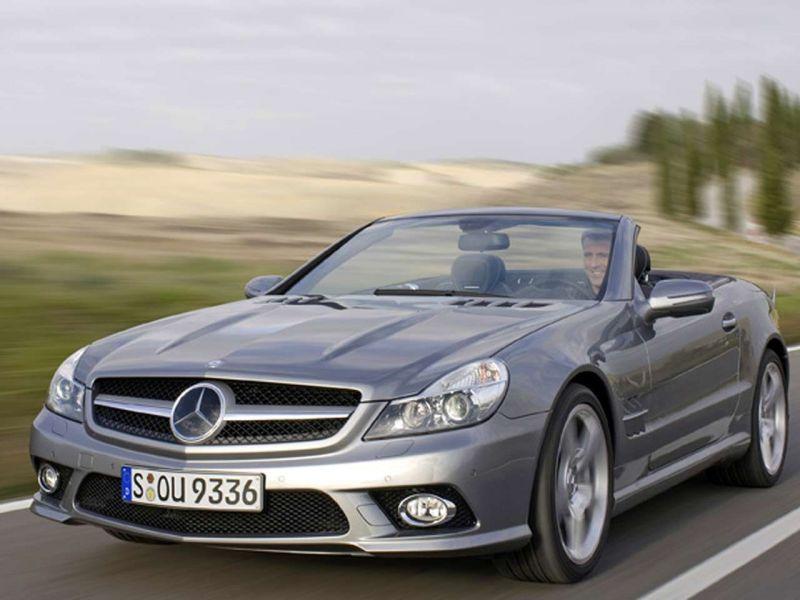 """Naujasis """"Mercedes-Benz SL"""" turėtų pasirodyti 2009 metais"""