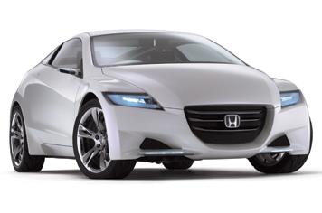 """""""Honda"""" gamins sportinį automobilį su hibridiniu varikliu"""