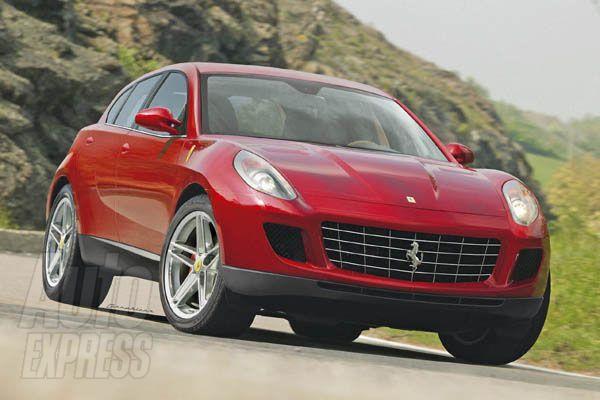 """""""Ferrari F151"""" – pirmasis italų gamintojo visureigis?"""