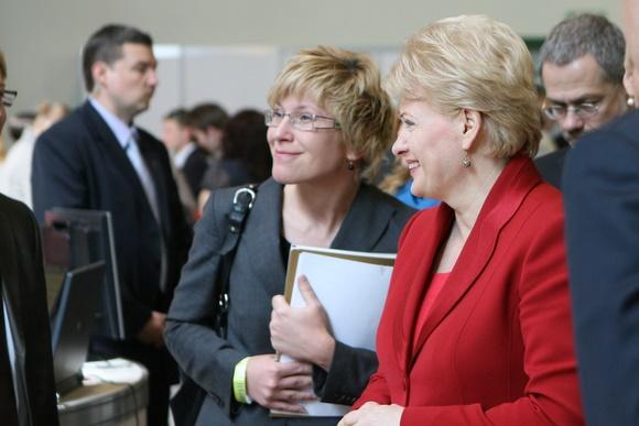 Ingrida Šimonytė ir Dalia Grybauskaitė