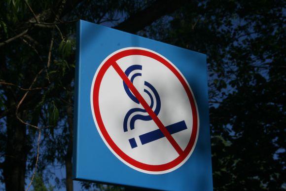 Paplūdimių prieigose atsirado ženklai, informuojantys, kad pajūryje nerūkoma.