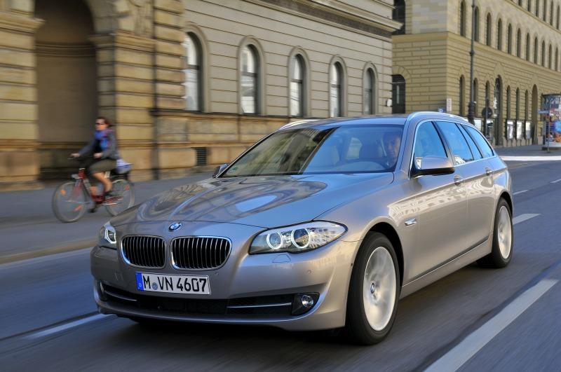 """Naujasis BMW 5 serijos """"Touring"""""""