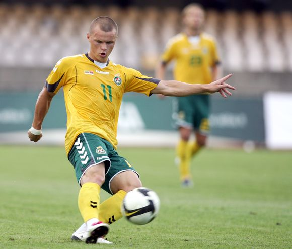 Darvydas Šernas – geriausias 2010 m. Lietuvos futbolininkas