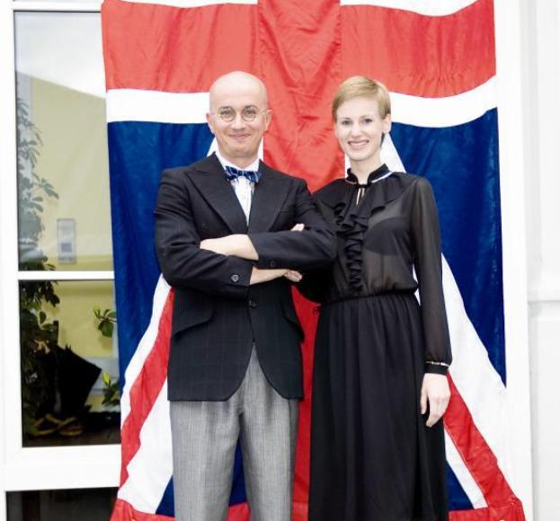 Aleksandras Pogrebnojus ir Salomėja Marcinkevičiūtė