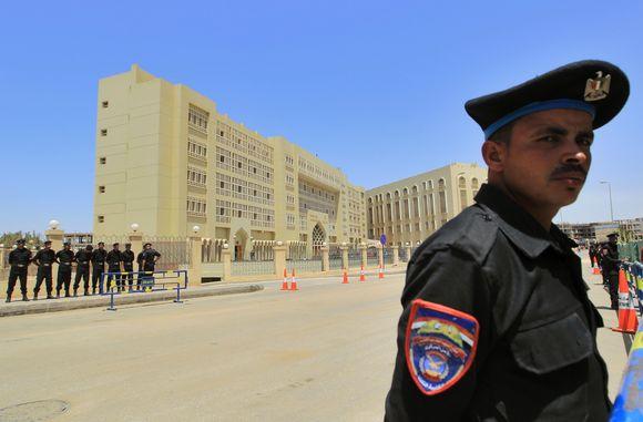 Egipto policija vis dar ieško dingusio paveikslo