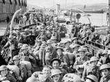 wikimedia.org nuotr./Britų kariai po operacijos Norvegijoje grįžta namo (1940 m.)