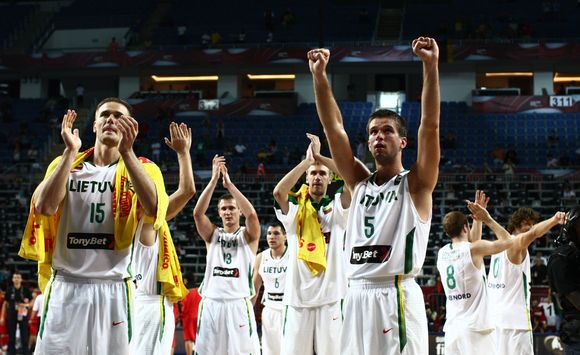 Lietuvos rinktinė iškovojo šeštą pergalę iš eilės
