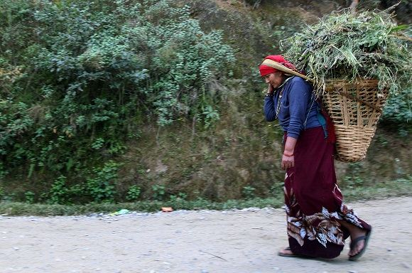 Scanpix nuotr./Nepalo moters portretas