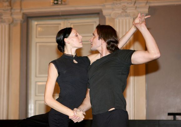 Irmanto Gelūno/15min.lt nuotr./Baleto solistai Beata Molytė ir Gintaras Visockis