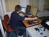 I.Ozturhan/15min.lt nuotr./Lazerinis treniruoklis yra valdomas instruktoriaus, kuris bet kuriio metu gali keisti veiksmo eigą.