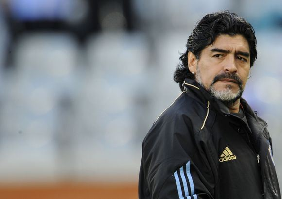 AFP/Scanpix nuotr./D.Maradona