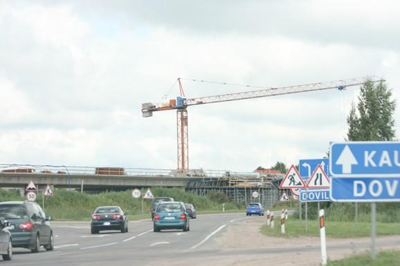 Jakų žiedo rekonstrukciją ketinama užbaigti kaip ir planuota – iki lapkričio 30-osios.