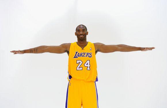 Kobe Bryantas surinko daugiausia fanų balsų.