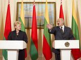 """Reuters""/""Scanpix"" nuotr./Dalia Grybauskaitė ir Aleksandras Lukašenka"